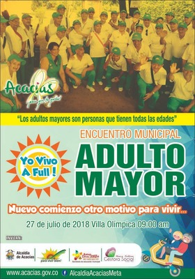 ENCUENTRO MUNICIPAL ADULTO MAYOR